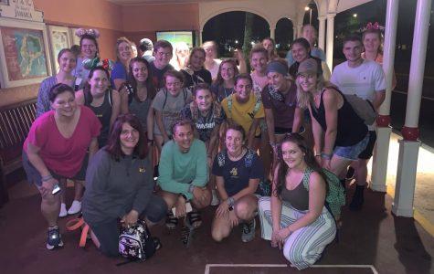 HOSA Students at Disney's Caribbean Resort during ILC