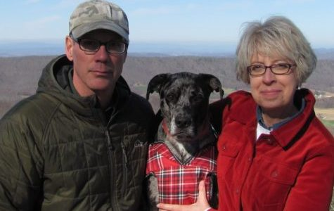 Petey with Mr. & Mrs. Rich.