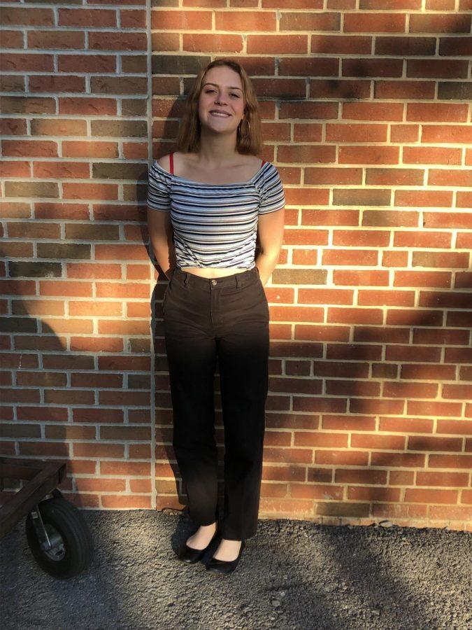 Senior Ella Bowes, November Style Icon.