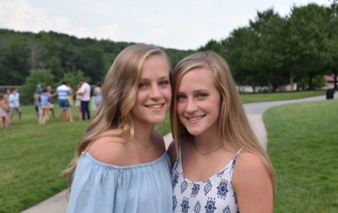 """Lauren Smith is on the left and Julia Smith is on the right. """"Are y'all twins?"""""""