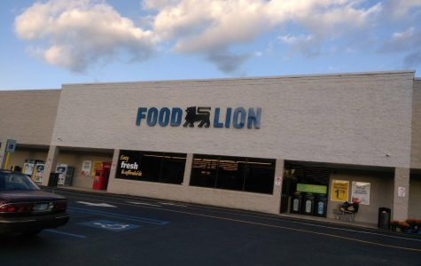 The Food Lion store in White Sulphur Springs.