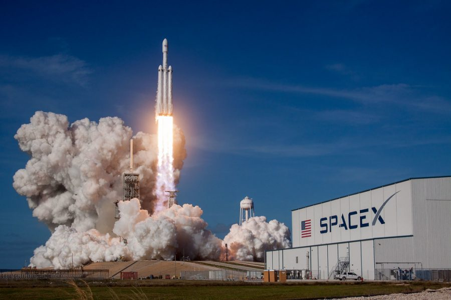 SpaceX+Launches+After+Several+Delays