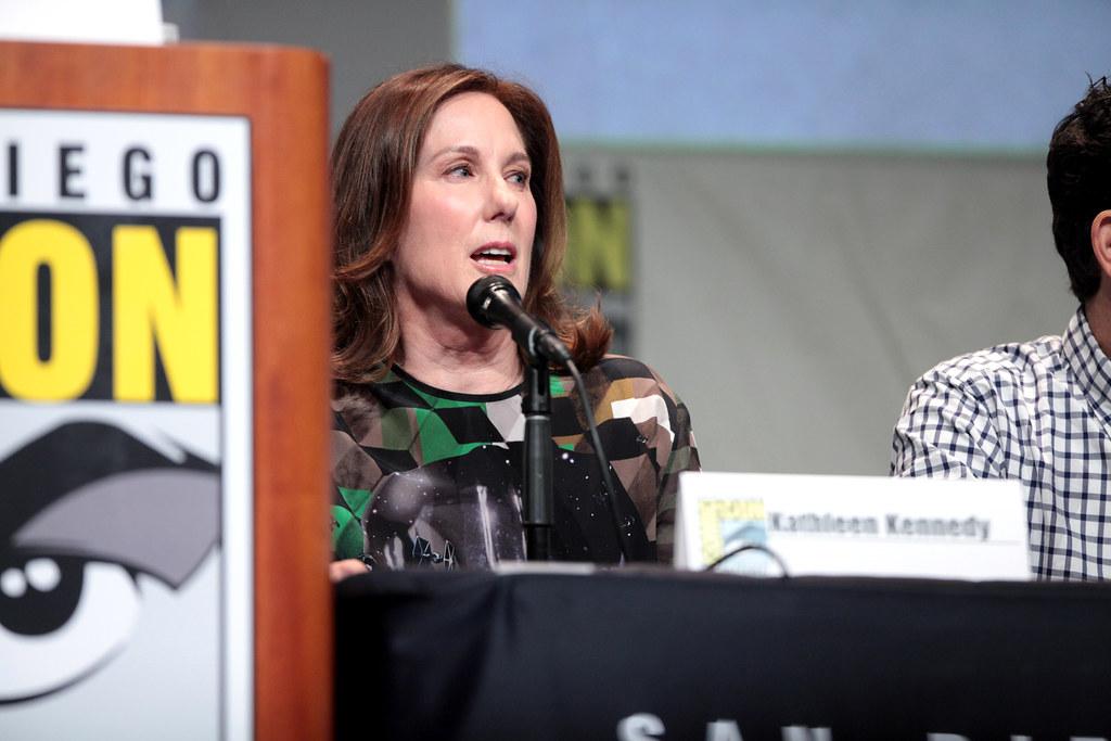 Kathleen Kennedy at San Diego Comic-Con (2015)