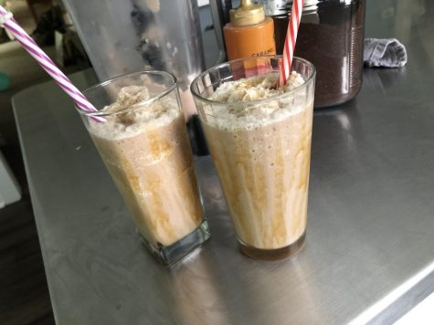 The average frappe contains 95 mg of caffeine.
