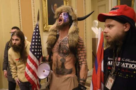 "A recent AP News headline reads: ""Man who wore horns at riot willing to speak at Trump's trial."" The horned man, Jacob Chansley, now feels ""betrayed"" by the ex-president."