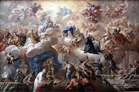 Triumph of the Immaculate by Paolo Di Matteis.